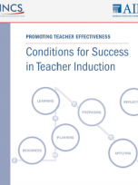 Decorative image for Resource Profile Conditions for Success in Teacher Induction