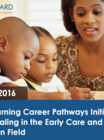 Decorative image for Resource Profile Early Learning Career Pathways Initiative: Credentialing in the Early Care and Education Field