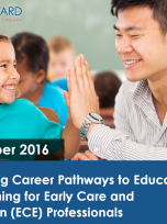 Decorative image for Resource Profile Accessing Career Pathways to Education and Training for Early Care and Education (ECE) Professionals