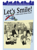 Decorative image for Resource Profile Rosalie's Neighborhood: Let's Smile! A Book about Dental Health