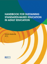 Decorative image for Resource Profile Handbook for Sustaining Standards-Based Education in Adult Education