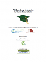 Decorative image for Resource Profile ABE Clean Energy Ambassadors  Curriculum Resource Guide