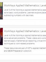 Decorative image for Resource Profile KET: WorkKeys® Applied Mathematics