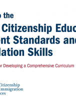 Decorative image for Resource Profile Guide to the Adult Citizenship Education Content Standards and Foundation Skills: A Framework for Developing a Comprehensive Curriculum