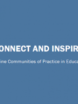 Decorative image for Resource Profile Connect and Inspire: Online Communities of Practice in Education
