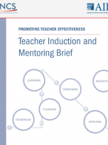 Decorative image for Resource Profile Teacher Induction and Mentoring Brief