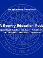 Decorative image for Resource Profile A Reentry Education Model: Supporting Education and Career Advancement for Low-Skill Individuals in Corrections