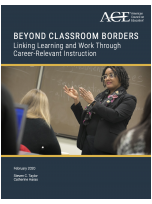 Beyond classroom borders: Linking learning and work through career-relevant instruction