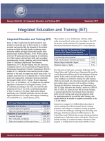 Integrated Education and Training