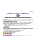 Kentucky Skills U Instructional Technology Framework