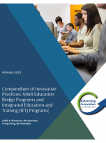 Cover of Compendium of Innovative Practices for Bridge and IET programs