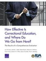 Decorative image for Resource Profile How Effective Is Correctional Education, and Where Do We Go from Here? The Results of a Comprehensive Evaluation