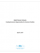 Decorative image for Resource Profile Adult Charter Schools: Creating Economic Opportunities for America's Families