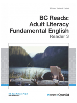 Decorative image for Resource Profile BC Reads: Adult Literacy Fundamental English – Reader 3
