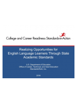 Decorative image for Resource Profile Realizing Opportunities for English Language Learners (ELLs) Through State Academic Content Standards Webinar