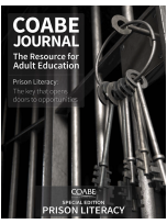 Decorative image for Resource Profile COABE Journal - Prison Literacy Edition