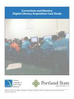 Decorative image for Resource Profile Corrections and Reentry: Digital Literacy Acquisition Case Study