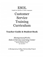 Decorative image for Resource Profile ESOL Customer Service Training Curriculum