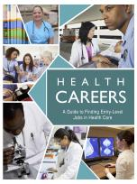 Decorative image for Resource Profile Health Careers: A Guide to Finding Entry-Level Jobs in Health Care