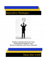 Decorative image for Resource Profile Innovative Strategies: Ideas that Work!
