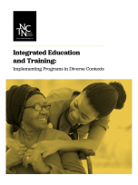 Decorative image for Resource Profile Integrated Education and Training: Implementing Programs in Diverse Contexts