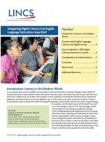 Decorative image for Resource Profile Integrating Digital Literacy Into English Language Instruction: Issue Brief