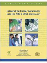Decorative image for Resource Profile Integrating Career Awareness into the ABE & ESOL Classroom