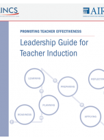 Decorative image for Resource Profile Leadership Guide for Teacher Induction