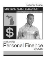 Decorative image for Resource Profile Exploring Personal Finance Choices