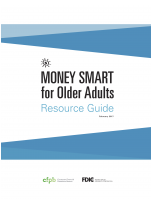 Decorative image for Resource Profile Money Smart for Older Adults