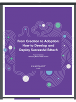 Decorative image for Resource Profile From Creation to Adoption: How to Develop and Deploy Successful Edtech