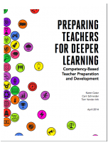 Decorative image for Resource Profile Preparing Teachers for Deeper Learning: Competency-Based Teacher Preparation and Development