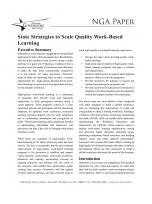Decorative image for Resource Profile State Strategies to Scale Quality Work-Based Learning