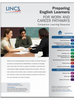 Decorative image for Resource Profile Preparing English Learners for Work and Career Pathways: Companion Learning Resource