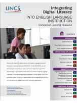 Decorative image for Resource Profile Integrating Digital Literacy Into English Language Instruction: Companion Learning Resource