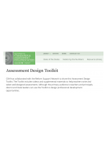 Decorative image for Resource Profile Assessment Design Toolkit
