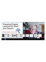 Decorative image for Resource Profile Preparing English Learners for Work and Careers: We've been there before! Or have we?
