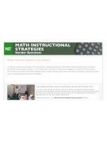 Decorative image for Resource Profile KET: Math Instructional Strategies
