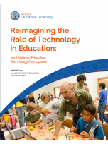 Decorative image for Resource Profile Reimagining the Role of Technology in Education: 2017 National Education Technology Plan Update