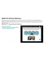 Decorative image for Resource Profile GEAR UP Writing Webinars - Episode 3: Paraphrasing Evidence