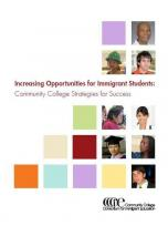 Decorative image for Resource Profile Increasing Opportunities for Immigrant Students: Community College Strategies for Success