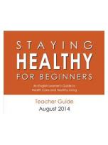 Decorative image for Resource Profile Staying Healthy for Beginners (Student Workbook)