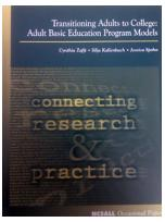 Decorative image for Resource Profile Transitioning Adults to College: Adult Basic Education Program Models
