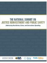 Decorative image for Resource Profile The National Summit on Justice Reinvestment and Public Safety: Addressing Recidivism, Crime, and Corrections Spending